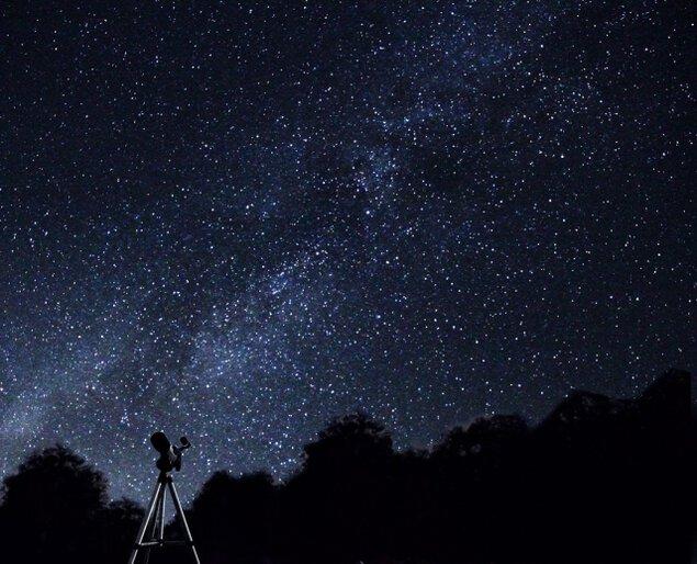 老神温泉星空観察会