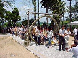 安仁神社社殿
