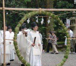 都農神社「夏越の大祓式」