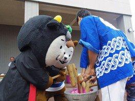 江平子安観音大祭