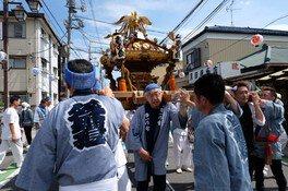 八坂神社祭礼2018(神輿祭り)