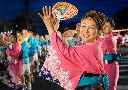 八代くま川祭り