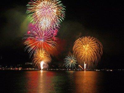 【2020年中止】宇佐美夏まつり海上花火大会