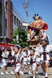 金津神社、水口通り、旧金津地区(JR芦原温泉西口駅前)