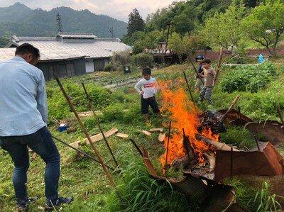 里山体験キャンプ(7月)<中止となりました>