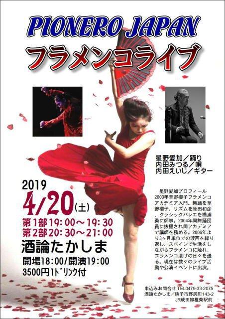 PIONERO JAPAN フラメンコライブ