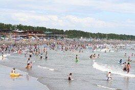 【海水浴】静波海水浴場