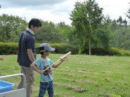 夏休み親子体験教室~竹の水てっぽう作り教室~