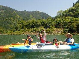 レイクカヤック in おおたき龍神湖