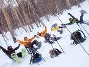 伊香保 榛名スノーシュー体験プラス「榛名富士山麓&湖畔周遊ウォーク」冬の自然体験