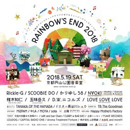 Rainbow's End 2018
