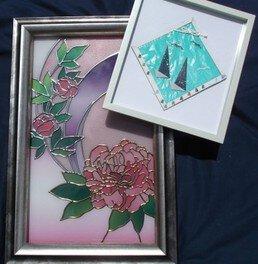 四季の折り紙と花の彩の世界