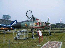 F-1支援戦闘機のコックピット開放