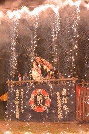 高岡愛宕神社境内