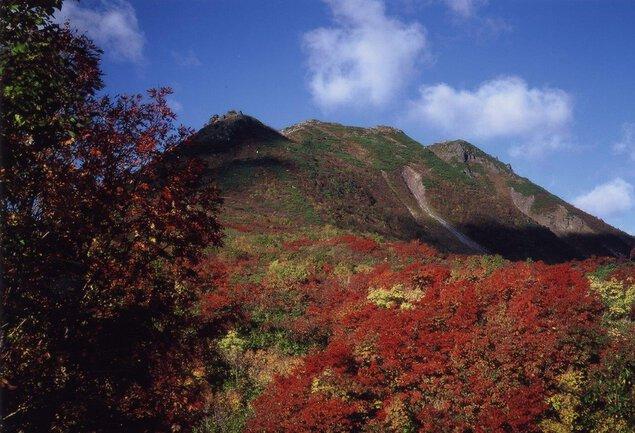 イワオヌプリの紅葉