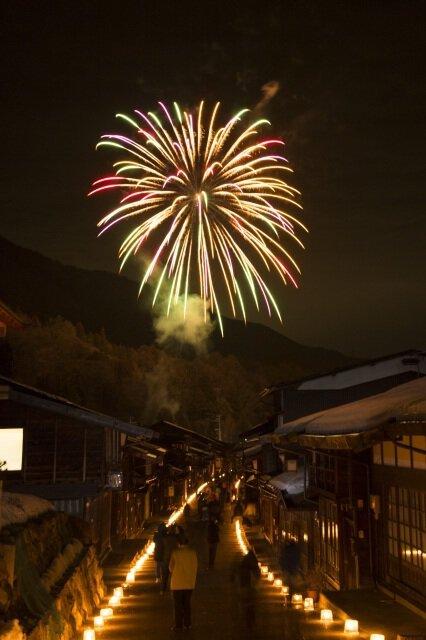 第21回奈良井宿アイスキャンドル祭り