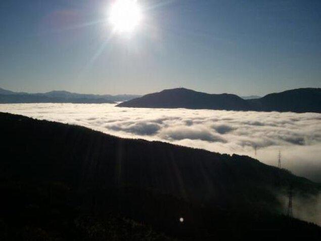 大洲の雲海