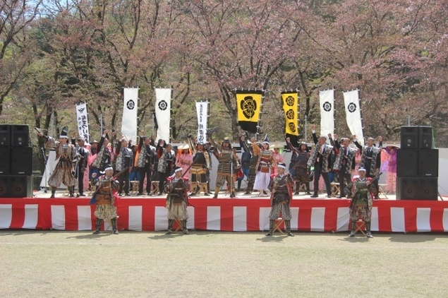 第36回(R3年度)城下町小幡さくら祭り「武者行列」<中止となりました>