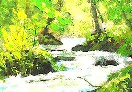 高橋憲悦絵画展~奥入瀬渓流と津軽の風景から~