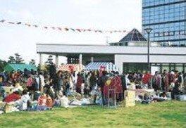 フリーマーケット「青空市」(7月)