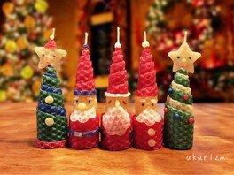 くるくるクリスマスキャンドルづくり(木の葉モール橋本)