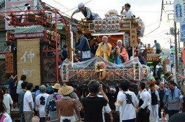 柿岡のおまつり(八坂神社祇園祭)