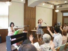 みんなで歌おう!野ばら音楽会(8月)