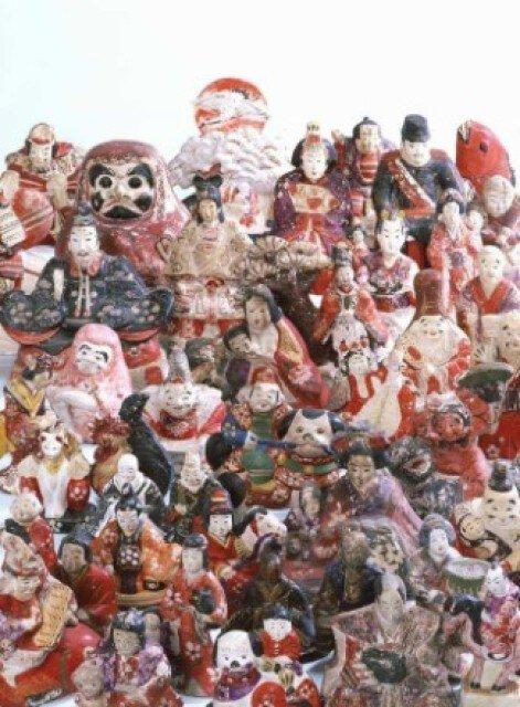 花巻市博物館テーマ展「めでたい!花巻人形」