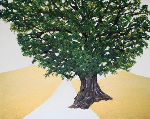 「どこからどこへ」maruu 絵画展