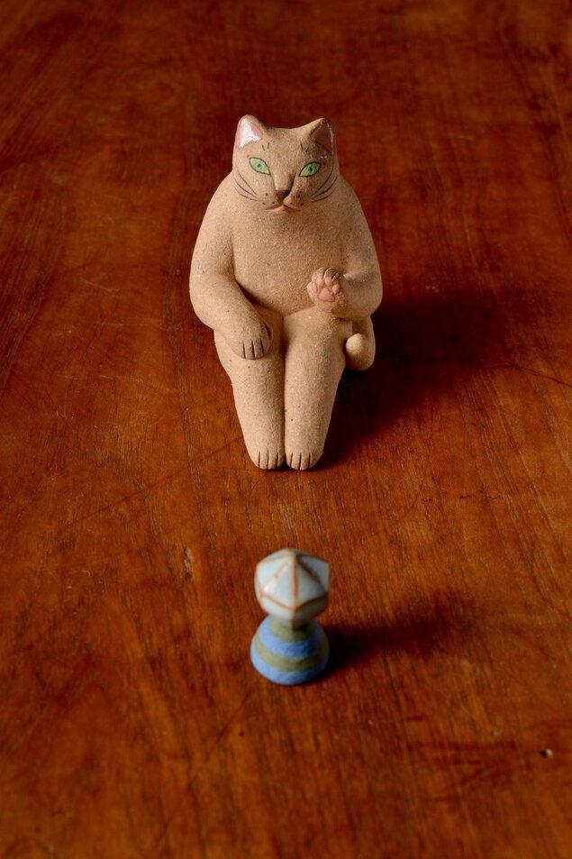 ヤマイチアツコ陶猫展 小さな発見