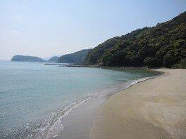 【海水浴】六方海水浴場