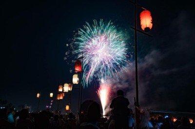 鹿島神社奉納花火祭