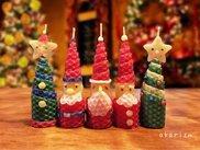 クリスマスキャンドルをつくろう