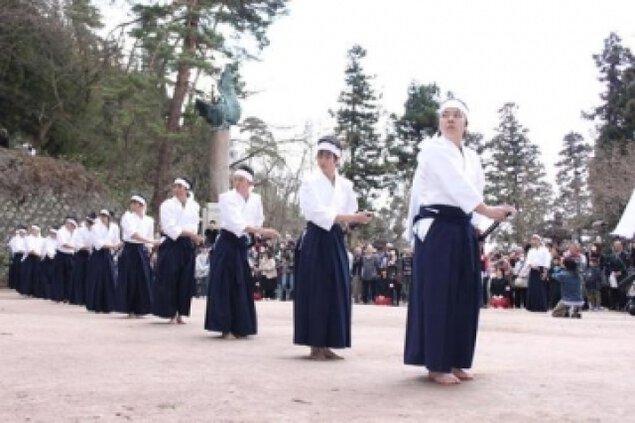 白虎隊墓前祭(4月)