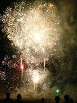 るもい呑涛まつり前夜祭フィナーレ花火