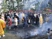 如意輪寺 火渡り