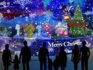 ひかるかなざわクリスマス~昼間に楽しめるプロジェクションマッピング~