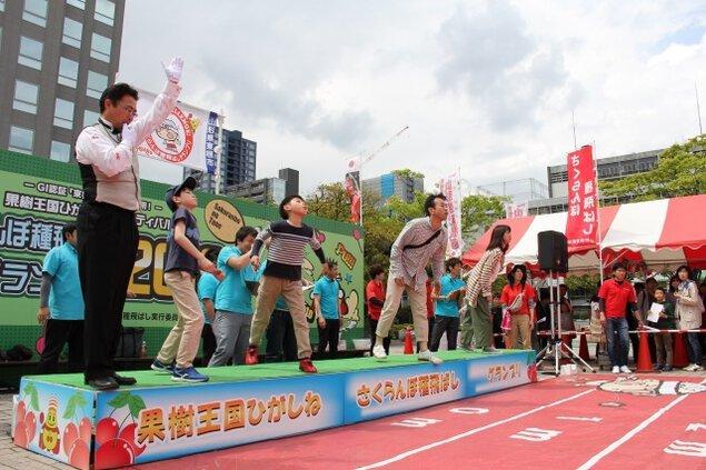 さくらんぼ種飛ばし仙台グランプリ2020