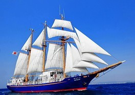 セイリングデイズ神戸(帆船みらいへ)ランチ付き