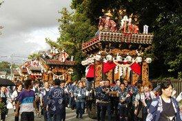 遠州 山梨祇園祭り