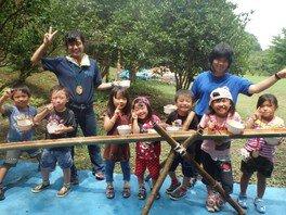 ヤックス自然学校「第42回サマーキャンプ:ひよこ(幼児)キャンプ」