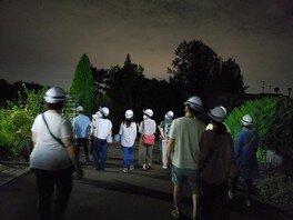 夜の植物園特別開園