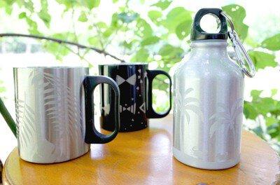 手作りを楽しもう サンドブラストで作る「カラビナ付きアルミボトルorステンレスマグカップ」