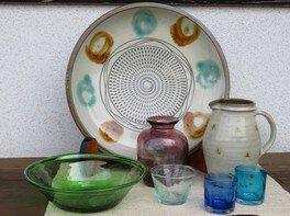 太田圭・潤兄弟作品展 ~民芸 小石原焼と再生手吹きガラスの仕事