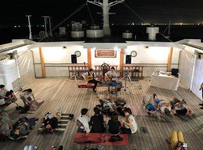 真夜中のピクニック船 ~東京湾オールナイトクルーズ~