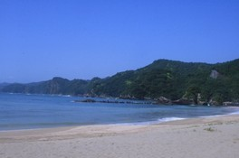 【海水浴】熊野江海水浴場