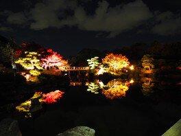 大仙日本庭園の紅葉