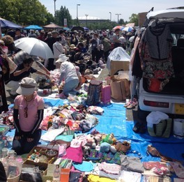 ビバモール和泉中央 フリーマーケット(8月)