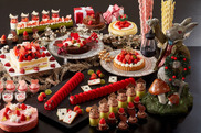 アリスのスイートティーパーティー「クリスマスデザート&ランチブッフェ」