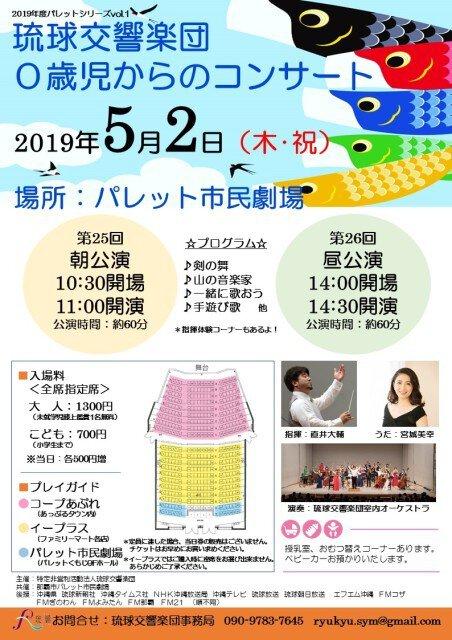 琉球交響楽団 0歳児からのコンサート